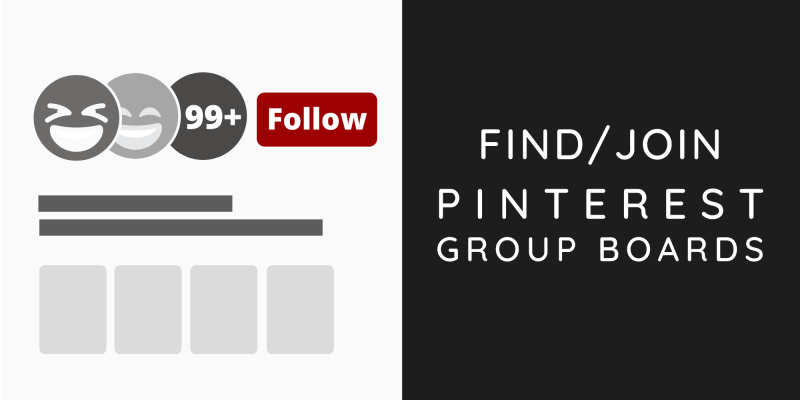 Find/Join Pinterest Group Boards