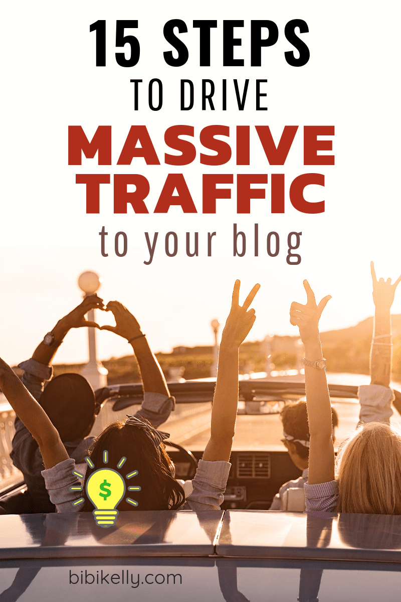 How to Drive Massive Traffic to your Blog #blogTraffic #blogging #makemoneyblogging