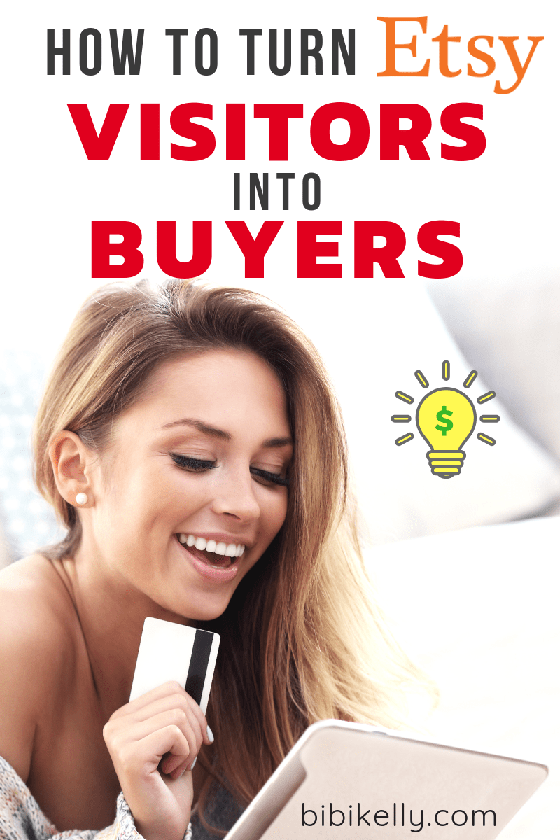 How do you turn your visitors into customers? When I ask this question to myself, this first thing that always pops into my mind is to take incredible pictures. After that, there are still lots of other smaller sales converting ideas bouncing around in my head. Here are our Top 9 strategies to turn your Etsy shop visitors into buyers.