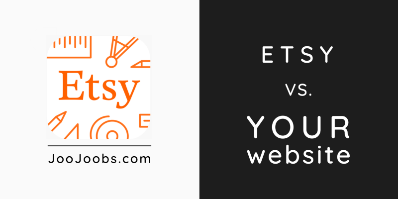 Etsy vs Your Website